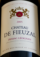 Coffret Magnum de Château de FIEUZAL 2005